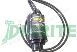 NEW DIGGA PD4R AUGER DRIVER UNIT WITH BRACKET AND HOSES
