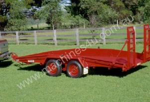 No. 8 Tandem Axle Car or Plant Transport Trailer