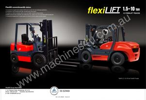 All New Value Packed Flexilift FG Series Dual Fuel