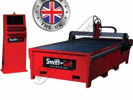 Swift-Cut 3000W CNC Plasma Cutting Table Hyperther