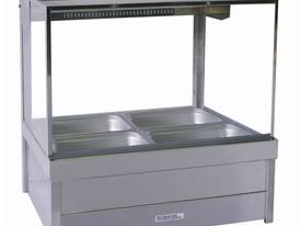 Roband Square Profile Hot Food Bar S22