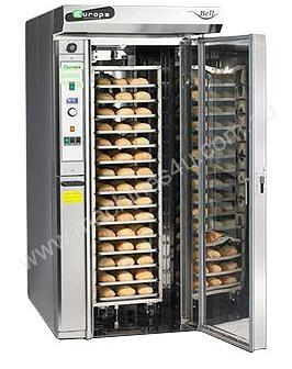 Compact Rotary Rack Oven