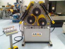 AMOB SECTION ROLLS | HYDRAULIC |  120MM SHAFT | DRO | PINCH TYPE | HEAVY DUTY | EUROPEAN - picture2' - Click to enlarge