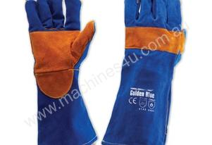 PRO KBW16E KEVLAR STITCH BLUE WELDERS GLOVES