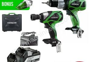 HITACHI KC18DSRL 18V 5.0AH LI-ION CORDLESS 2PC SLI