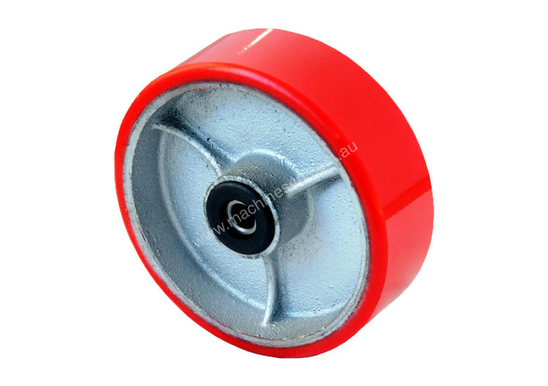 52160 - 100MM PU MOULDED CAST IRON REPLACEMENT WHEEL