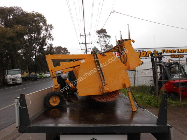 AS-3000mm , road sweeper for loader