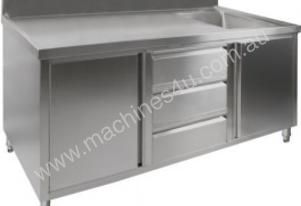 F.E.D. SC-7-1800R 'KITCHEN TIDY' Cabinet with Right Sink