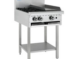 Luus Model BCH-2B3C - 2 Burners 300 BBQ Char and Shelf  - picture0' - Click to enlarge