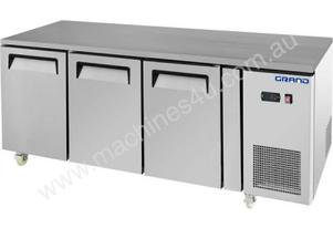F.E.D. GTR3100B GRAND True Quality Three Door Gastronorm Work Bench Fridge