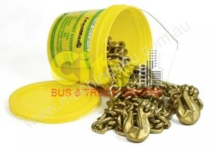 9 Metre x 8mm Chain Kit with Grab Hook
