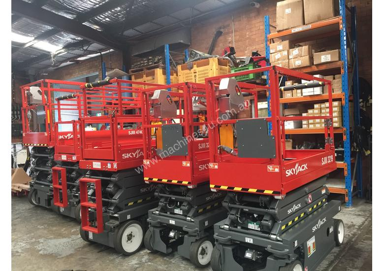 Skyjack Scissor Lift Hire From 159 pw 19ft-40ft