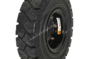 Forklift Rim and Solid Tyre 650 x 10