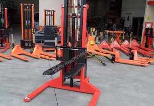 Semi Electric Straddle 2 Ton 3m Pallet Stacker