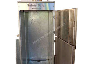 Safety Baler 9000 for kitchen and general waste