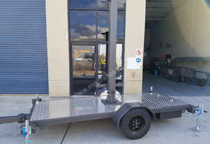 Alltrades Trailers All-Tow LED VMS Sign Trailer
