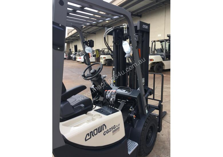 Crown's New GX Plus 2.5 Ton hits the market ( Perth Branch)