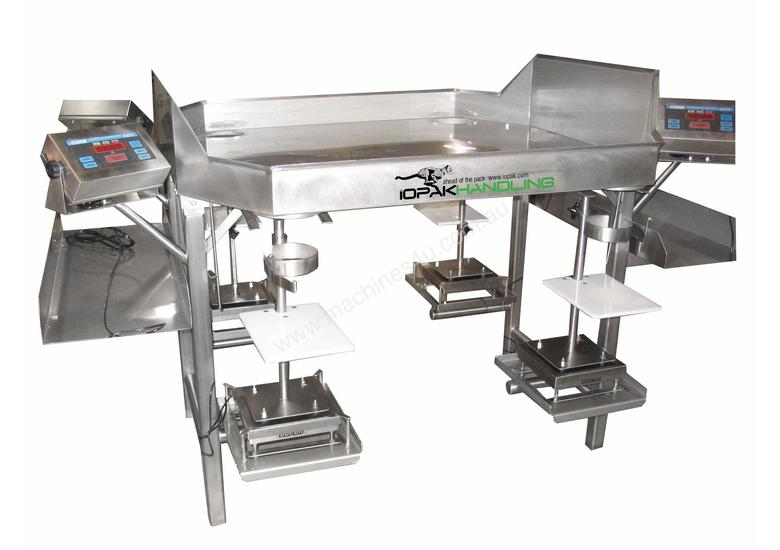 IOPAK Sorting & Weighing Table (2-Person Station) SORTWEIGH-2