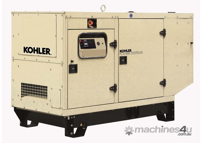 Kohler KD110IV 110kVA Diesel Standby Generator with 190L Tank and 11.5 Hours Run Time