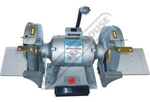 BG10 Industrial Bench Grinder Ø250mm Fine & Coarse Wheels 0.9kW - 1.2HP Motor Power
