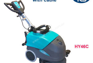 TCS Commercial Powered Auto Floor Scrubber Machine with Cable & Squeegee Drier