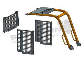 D4G XL Dozers Screens & Sweeps DOZSWP - picture5' - Click to enlarge