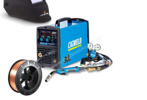 Cigweld Weldskill 185 3-in-1 Inverter MIG-TIG-MMA Welder Bundle