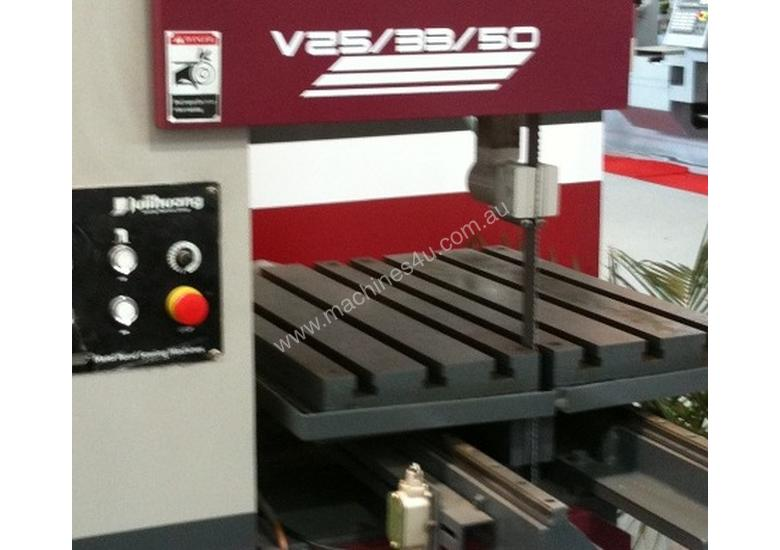 V-25/33/50 Super Heavy Duty Vertical Bandsaw With Power Feed - Save #3000