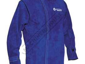 WC-01781 Professional Promax BL7 Welding Jacket Size: L - Large Premium A-Grade Cowhide Leather - picture2' - Click to enlarge