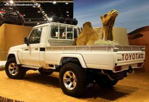 Toyota Landcruiser 79 series single cab wellbody style side tray