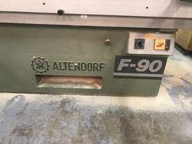 Great condition Alterndorf F90 Bench Saw - picture1' - Click to enlarge