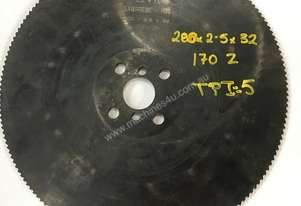 Cold Saw Blade HSS 280Ø x 2.5 x 32mm Bore 170T