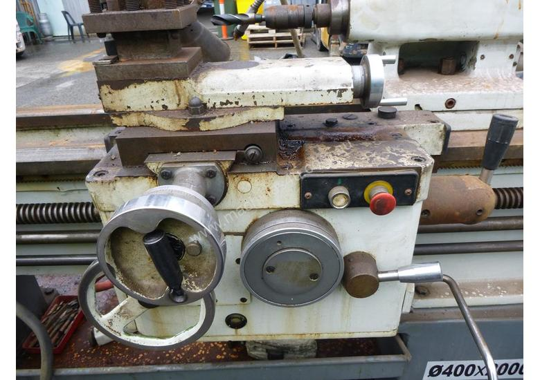 2000 Dalian CD6240A 3 Phase Lathe - In Auction