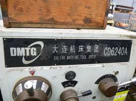 2000 Dalian CD6240A 3 Phase Lathe - In Auction - picture6' - Click to enlarge