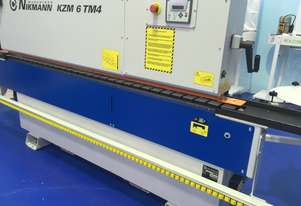 NikMann KZM6TF-v49 heavy duty edgebander with pre-milling units