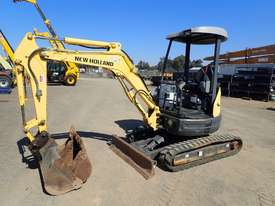 New Holland E27B Excavator - picture0' - Click to enlarge