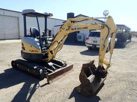 New Holland E27B Excavator - picture3' - Click to enlarge
