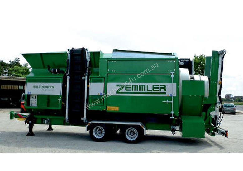 ZEMMLER� MULTI SCREEN� MS 4200 � Trommel Screen