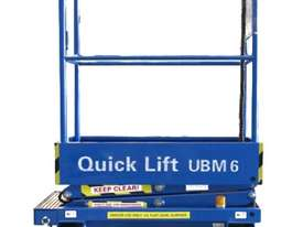6ft Self Propelled Mini Scissor Lift - picture0' - Click to enlarge