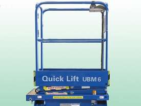 6ft Self Propelled Mini Scissor Lift - picture1' - Click to enlarge