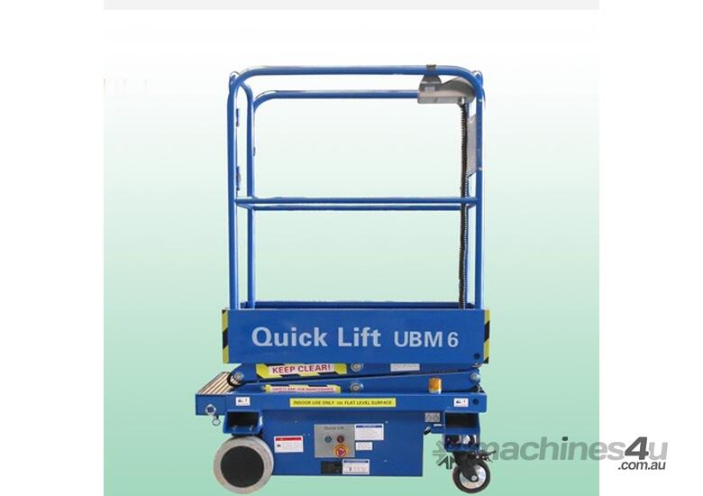 6ft Self Propelled Mini Scissor Lift