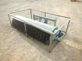 Unused 1800mm Hydraulic Sweeper to suit Skidsteer Loader - 10419-32 - picture1' - Click to enlarge