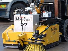 Multisweep MS270 Forklift Sweeper Bobcat Sweeper Sweeper Attachment Bucket Broom - picture0' - Click to enlarge