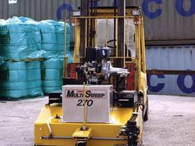 Multisweep MS270 Forklift Sweeper Bobcat Sweeper Sweeper Attachment Bucket Broom - picture2' - Click to enlarge