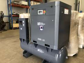Screw Compressor 11kW - Tank and Dryer Package  - picture0' - Click to enlarge