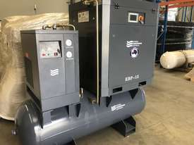 Screw Compressor 11kW - Tank and Dryer Package  - picture1' - Click to enlarge