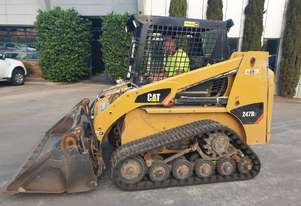 2013 CAT 247B3 TRACK LOADER WITH LOW 1200 HOURS