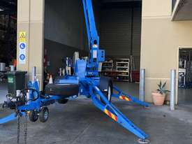 RARE Genie TZ34/20 Trailer Mounted Cherry Picker, with Rotating basket.  - picture1' - Click to enlarge