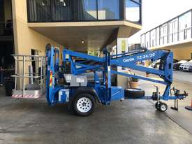 RARE Genie TZ34/20 Trailer Mounted Cherry Picker, with Rotating basket.  - picture2' - Click to enlarge
