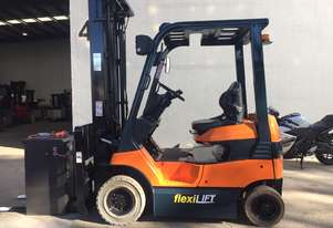 TOYOTA 7FB15 1.5-Ton Electric-Counterbalance Forklift Fully Refurbished